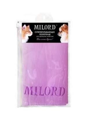 Полотенце для животных Milord Super Absorbent Towel, размер 66х43см.