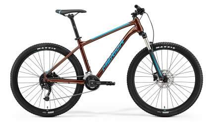 "Велосипед Merida Big.Seven 100-2x 2021 19"" bronze/blue"