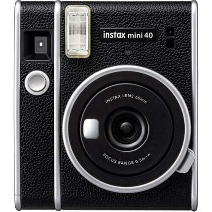 Фотоаппарат моментальной печати Fujifilm Instax Mini 40 EX D Black