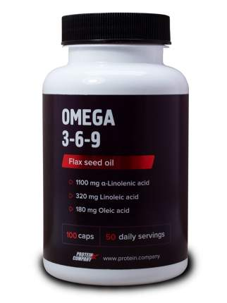 Omega 3-6-9 Protein.Company 100 капсул