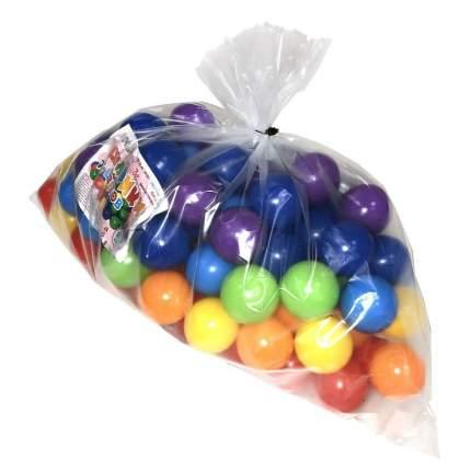 Набор шариков ЮгПласт Радуга, 5 см, 100 шт.