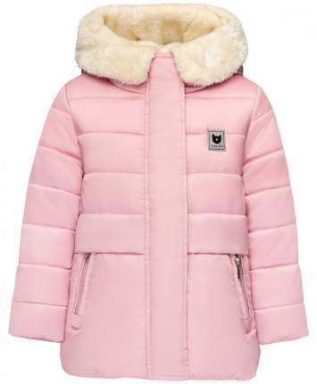Куртка для девочек Button Blue, цв. розовый, р.98