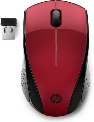 Беспроводная мышь НР 220 Black/Red (7KX10AA)