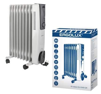 Масляный радиатор Ergolux ELX-OH09-С09 белый
