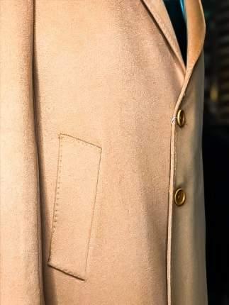 Пальто мужское Loro Piana 737804 оранжевое 50 IT
