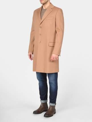 Пальто мужское Loro Piana 736804Z5 оранжевое 48 IT