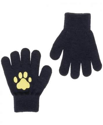 Перчатки для девочек Button Blue, цв. синий, р.18