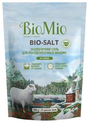 Соль для посудомоечных машин bio-salt, bio mio 1000 гр