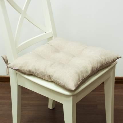 Декоративная подушка на стул с завязками Бьянка, Altali, 41x41см, P705-Z102/2