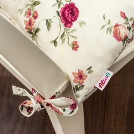 Декоративная подушка на стул с завязками Жасмин, Altali, 41x41см, P705-1810/1