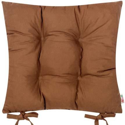 Декоративная подушка на стул с завязками Кофе, Altali, 41x41см, P705-Z109/1