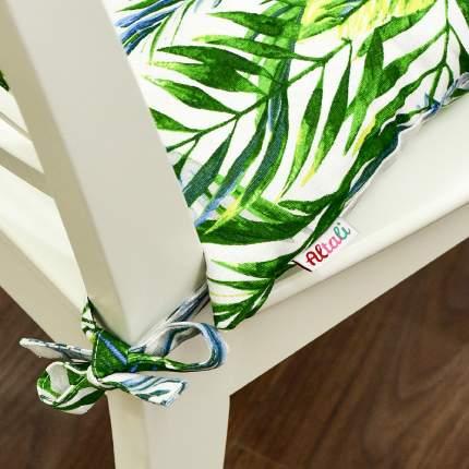 Декоративная подушка на стул с завязками Джамайка, Altali, 41x41см, 705-2012/1