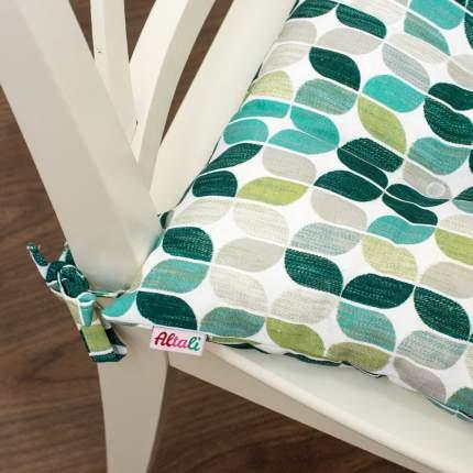 Декоративная подушка на стул с завязками Геометрико, Altali, 41x41см, 705-7794/1