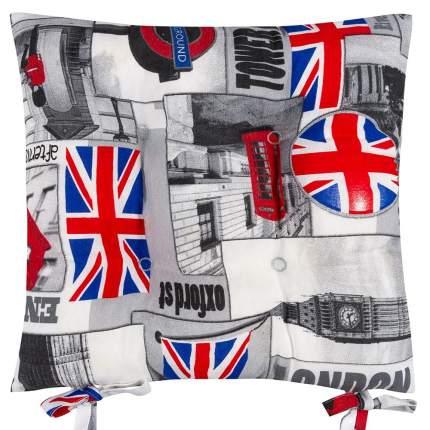 Декоративная подушка на стул с завязками Оксфорд, Altali, 41x41см, 705-2141/1