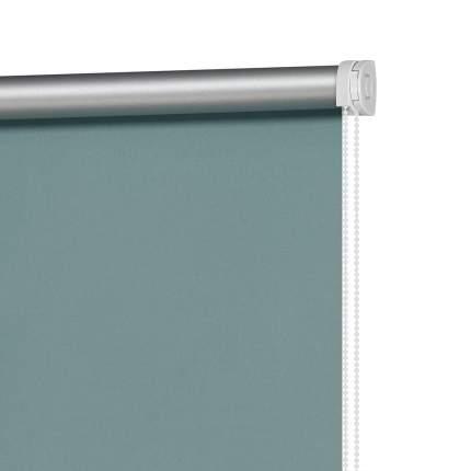 Рулонная штора Decofest Миниролл Блэкаут Плайн Бирюзово-синий 40x160 160x40 см