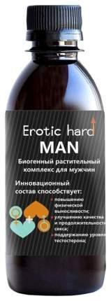 Концентрат биогенный для мужчин   «Erotic hard» , для усиление эрекции, 250 мл
