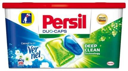 Капсулы для стирки persil duo-capsю свежесть от vernel (28 штук) henkel