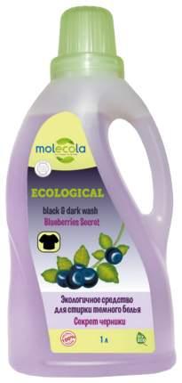 Средство Molecola для стирки темного белья экологичное секрет черники 1 л