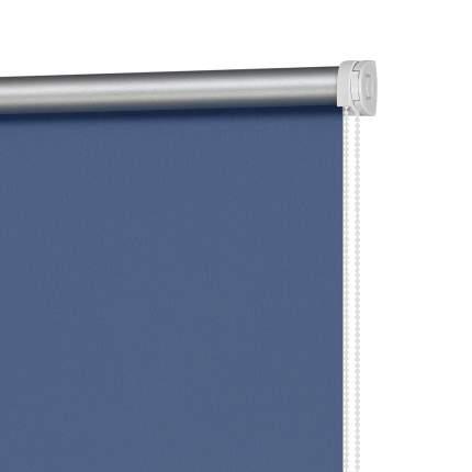Рулонная штора Decofest Миниролл Блэкаут Плайн Полуночный синий 60x160 160x60 см