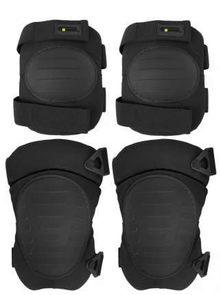 Защита колена и локтя Kamukamu 700865 черная One Size