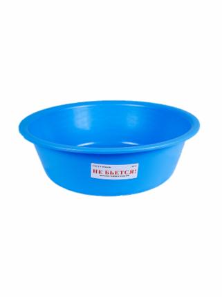 Таз 15л. для пищевых продуктов мягкий (ПЭВД) цвет голубой