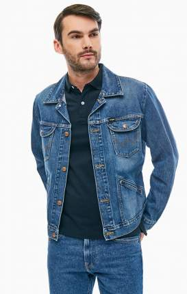 Куртка мужская Wrangler W4MJUG925 синяя M