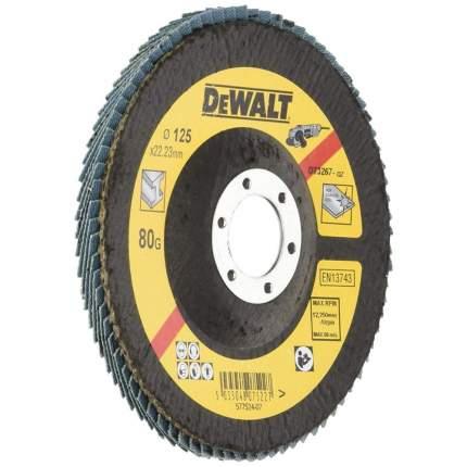 Круг лепестковый шлифовальный для шлифовальных машин DeWalt DT3267-QZ