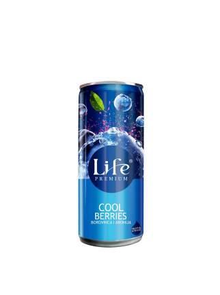 Сок черники и аронии Life Premium Спелая ягода 0.25 л