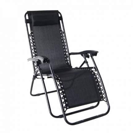 Кресло-шезлонг Reka RK-0130 черный