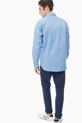 Рубашка мужская Tommy Hilfiger MW0MW12187 C39 синяя M