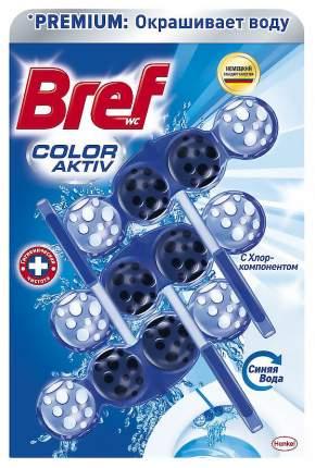 Средство Bref blue aktiv чистящее для унитаза с хлор-компонентом 3*50 г