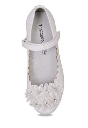Туфли для девочек T.TACCARDI, цв. белый, р-р 33