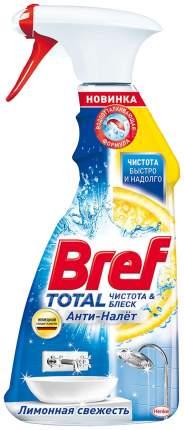 Средство Bref total чистящее для сантехники анти-налет лимонная свежесть 500 мл