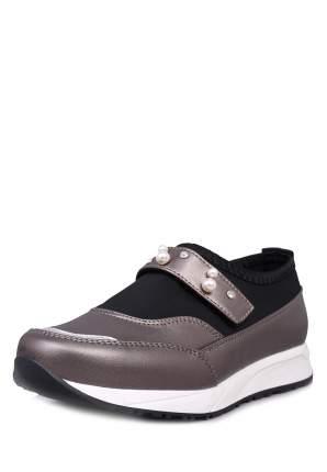 Туфли для девочек T.TACCARDI, цв. серебристо-серый, р-р 35
