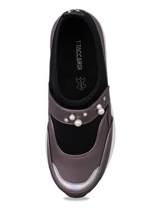 Туфли для девочек T.TACCARDI, цв. серебристо-серый, р-р 33