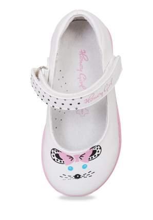 Туфли для девочек Honey Girl, цв. белый, р-р 24