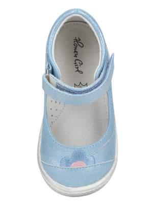 Туфли детские Honey Girl, цв. голубой р.25