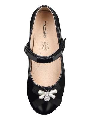 Туфли для девочек T.TACCARDI, цв. черный, р-р 35