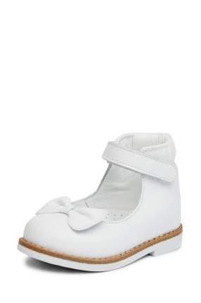 Туфли детские Lovely Puppy, цв. белый р.24