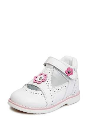 Туфли для девочек Lovely Puppy, цв. белый, р-р 24