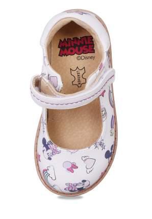 Туфли детские Minnie Mouse, цв. белый р.23