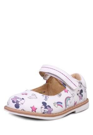 Туфли детские Minnie Mouse, цв. белый р.21