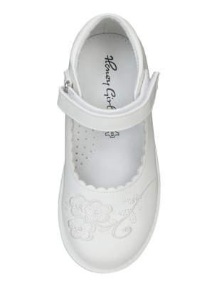 Туфли для девочек Honey Girl, цв. белый, р-р 29