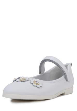 Туфли детские Alessio Nesca, цв. белый р.35