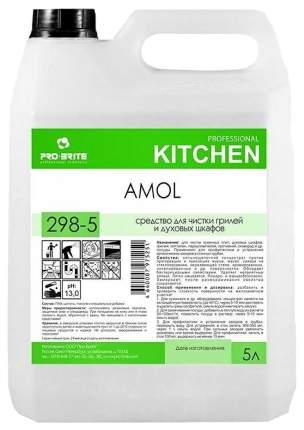 Профессиональное средство для чистки грилей и духовых шкафов pro-brite amol, 5 литров
