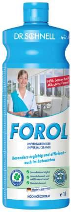 Средство Dr.schnell forol чистящее универсальное щелочное для водостойких поверхностей 1 л