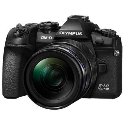 Фотоаппарат системный Olympus E-M1 Mark III 12-40mm PRO Black