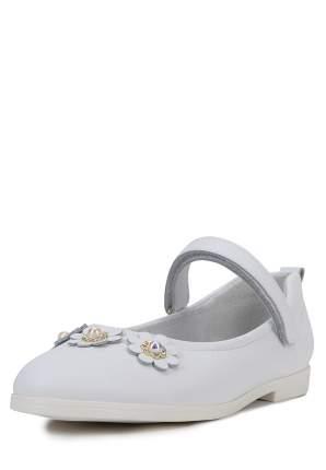 Туфли для девочек Alessio Nesca, цв. белый, р-р 33
