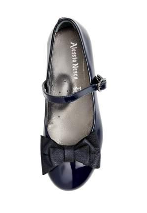 Туфли для девочек Alessio Nesca, цв. темно-синий, р-р 35