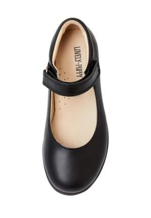 Туфли для девочек Lovely Puppy, цв. черный, р-р 29